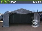 Storage shelter PRO 6x12x3.7 m PVC