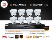 1080p & 4K CCTV installation London,  Outdoor CCTV Camera Installation