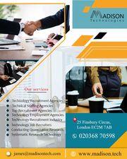 Information Technology Employment Agency London | Madison Technologies